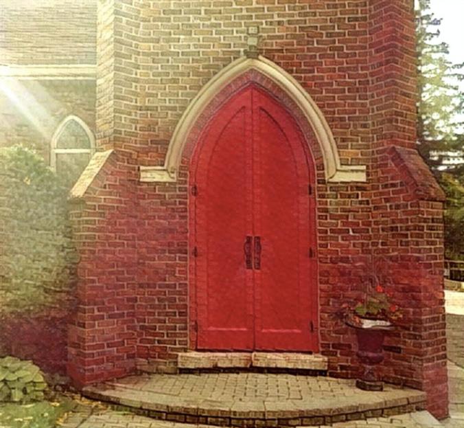 church-door